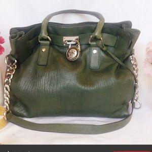Michael Kors Forrest Green Hobo Bag